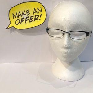 DKNY Wrap 5553 1080 50-15 135 Eyeglasses RX.